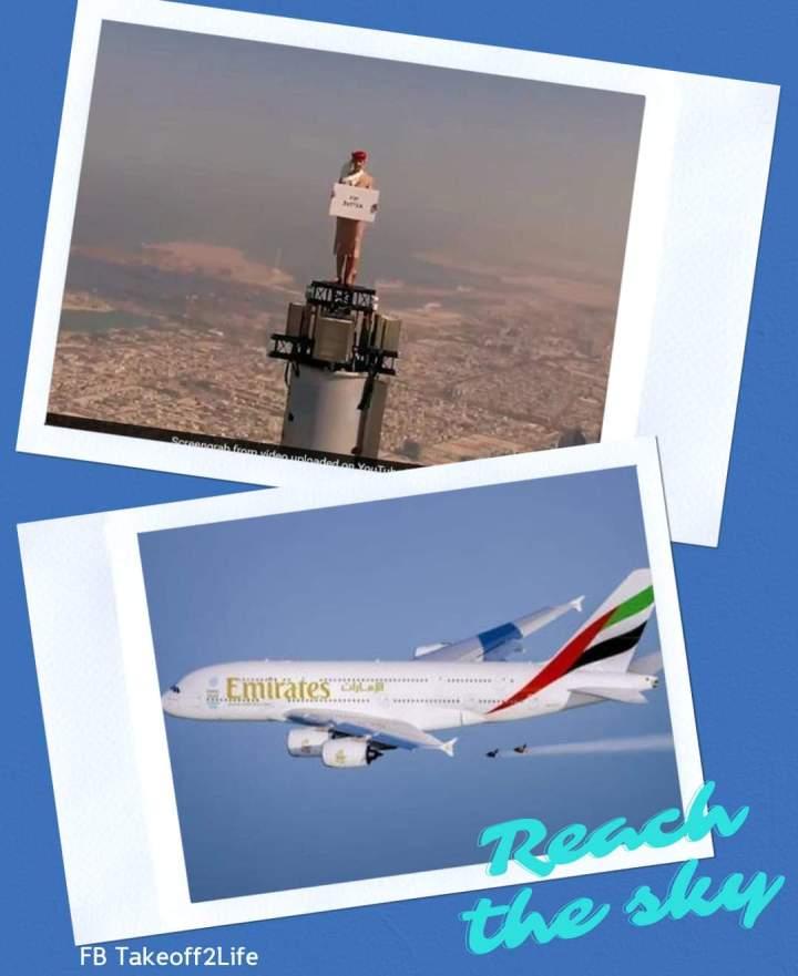 "Emirates กับ โฆษณาที่ต้องบอกว่า""คุณกล้ามาก"""